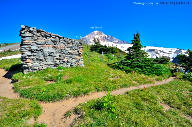 mcneil point shelter mt hood timberline trail #600 oregon hike watermark