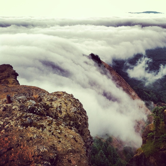 Cloudfall Saddle Mountain Oregon Instagram