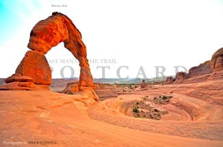 Arches National Park Utah Delicate Arch Trail Hike Arch Moab Attractions