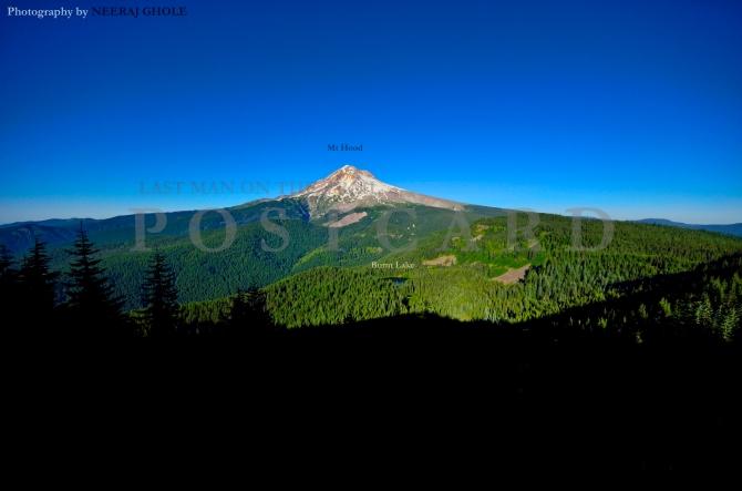 East Zigzag Hike Mt Hood Burnt Lake US 26 Oregon