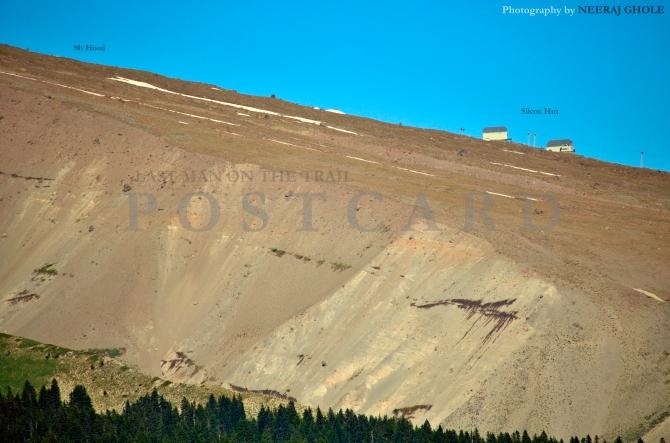 East Zigzag Hike Mt Hood Burnt Lake US 26 Oregon Silcox Hut