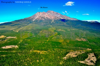 Black Butte Mt Shasta California Weed Shasta City Summit Hike Trek I-5