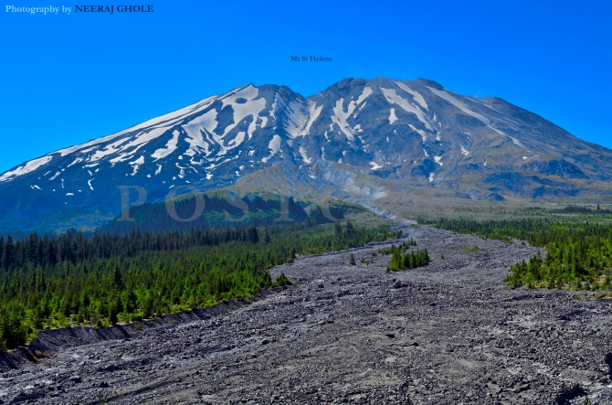 Mt St Helens Ape Canyon Hike Plains of Abraham Washington