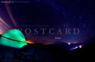 Tom, Dick & Harry Mountain Starry Night Oregon Trek Hiking Backpacking Camping Tent Mt Hood