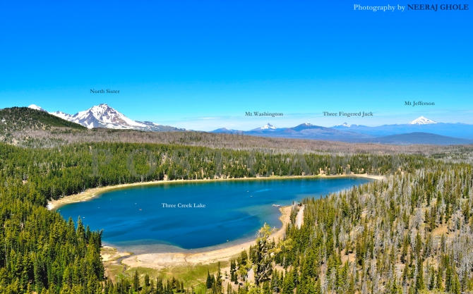 Tam McArthur Rim Trail Hike Oregon Mt Jefferson Mt Hood South Sister North Sister Middle Sister Broken Top Three Fingered Jack Mt Washington Mt Adams Three Creek Lake