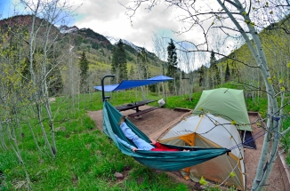 silver bells campground camping site number 11 maroon bells aspen colorado maroon lake crater lake