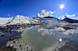 matanuska glacier alaska largest glacier approachable by road ice cave crevasses panorama