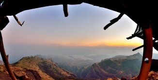 Kalsubai Hike Maharashtra Baari Gohti Bhandardara Highest Peak Maharashtra Sahyadris Kalsu Devi Temple Mumbai Pune Hike