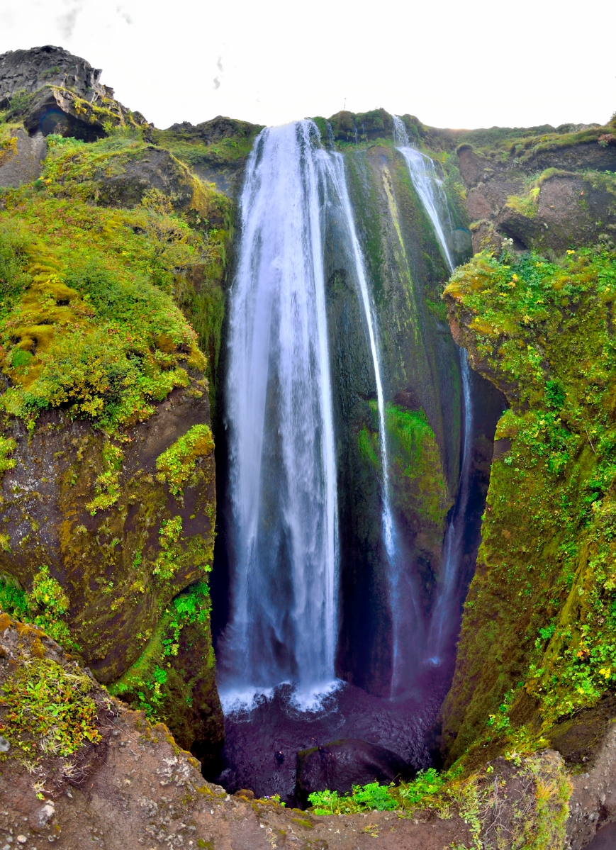 Gljúfrafoss Iceland waterfall