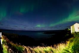 Hellissandur Iceland Northern Lights Aurora Borealis