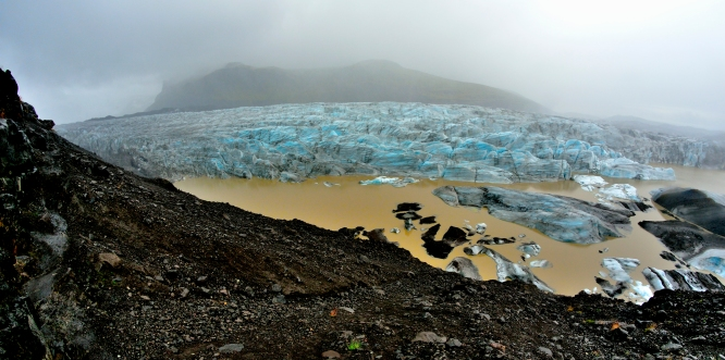 Random Vatnajokull Glacier Sveitarfélagið Hornafjörður Iceland