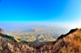 Salher Hike Temple Mandir atop on top Salota Maharashtra Mulher Second highest peak Milky way backpacking India near Mumbai Salher Fort Caves Camping
