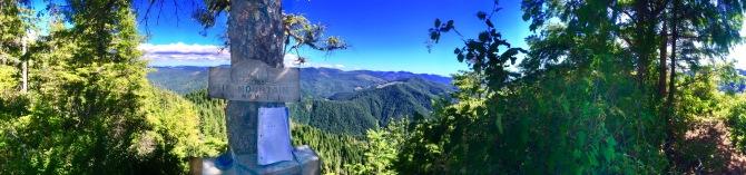 elk mountain hike OR 6 tillamook portland hike Oregon tillamook state forest log book