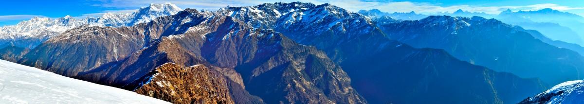 chandrashila deoriatal tungnath nanda devi uttarakhand nepal himalayas north india trishul dunagiri chaukhamba hike trek view panorama chopta baniyakund sari salmi
